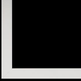 Inlijsting, Wisselijst, Glas, Wit